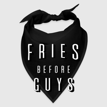 Fries Before Guys Mugs & Drinkware - Bandana