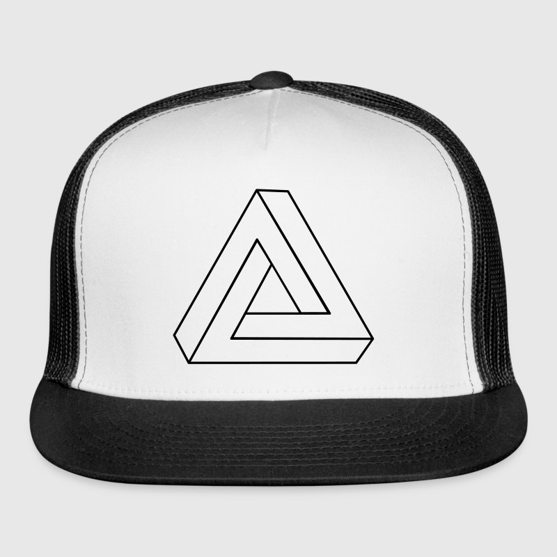 Impossible Triangle 3D Caps - Trucker Cap