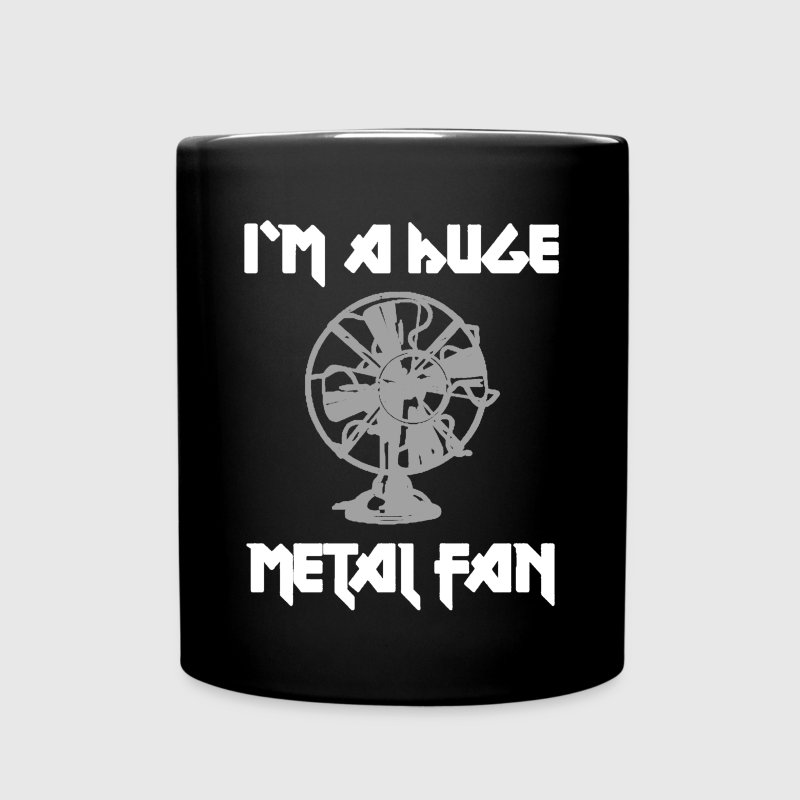 I'm a huge metal fan coffee mug - Full Color Mug