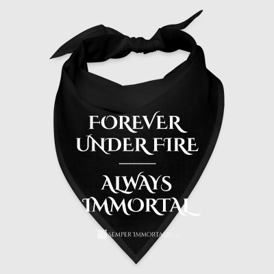 Forever Under Fire - Always Immortal mug - Bandana