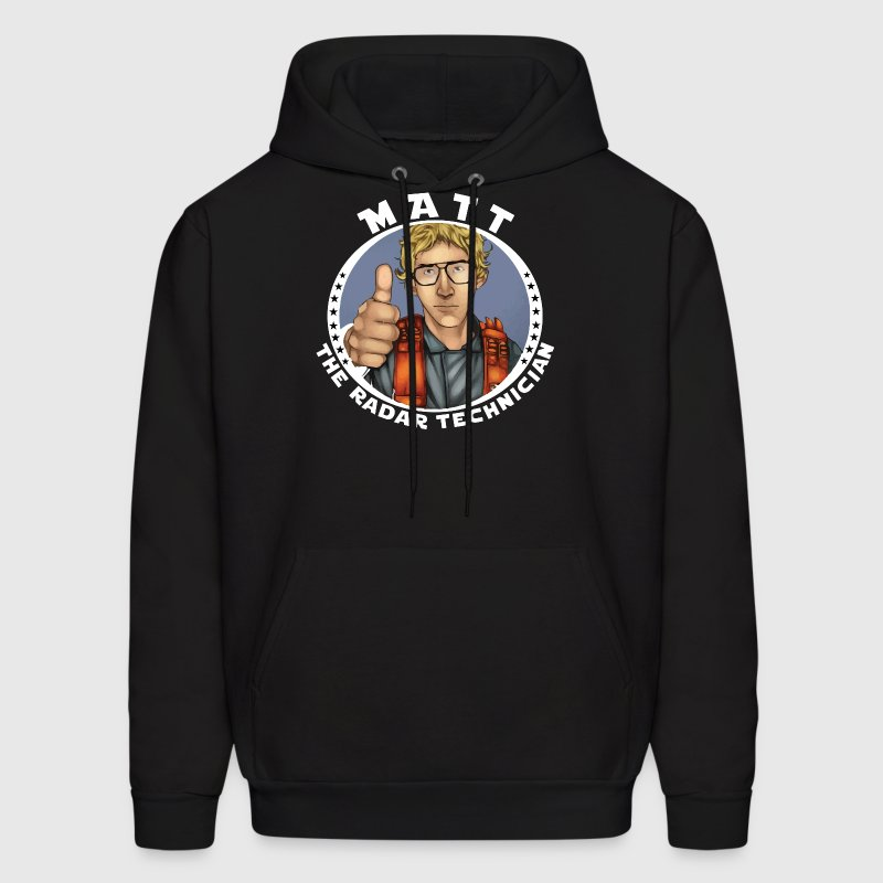 MATT THE RADAR TECHINICIAN Hoodies - Men's Hoodie