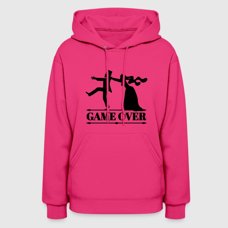 game over bride groom bachelor bachelorette party  Hoodies - Women's Hoodie
