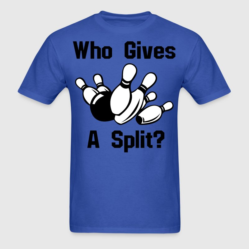 Who gives a split - Men's T-Shirt