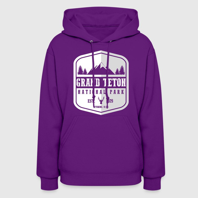 Grand Teton National Park Hoodies - Women's Hoodie