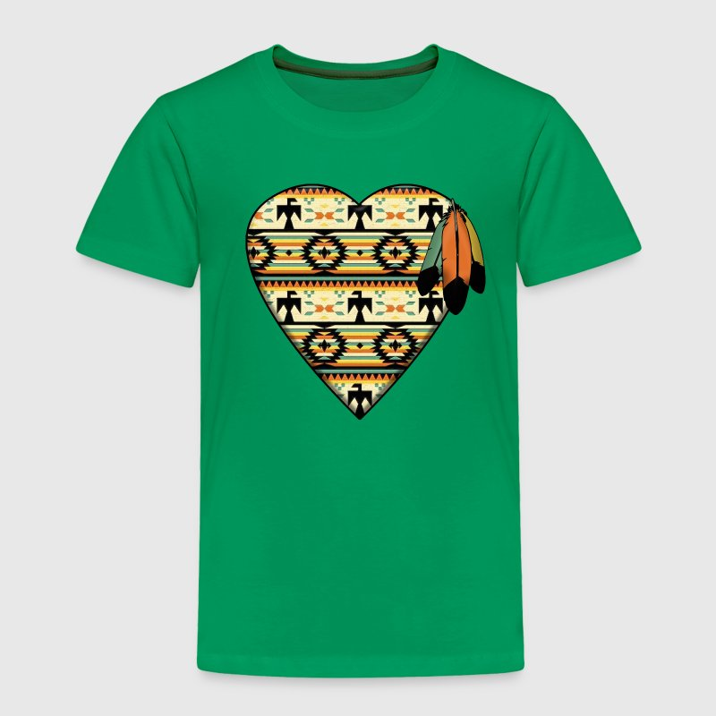 Native American Heart Baby & Toddler Shirts - Toddler Premium T-Shirt