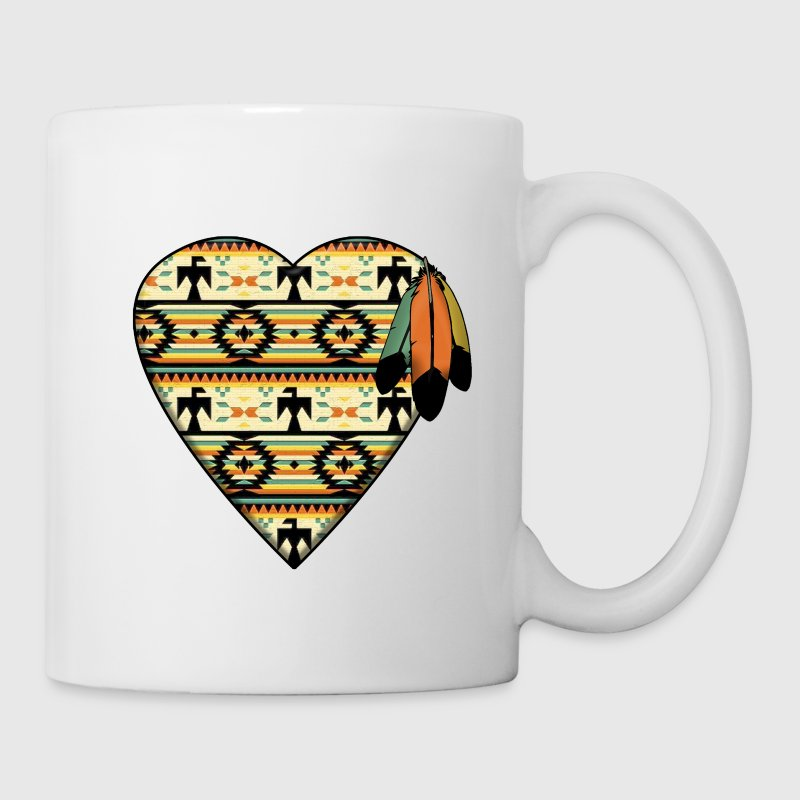 Native American Heart Mugs & Drinkware - Coffee/Tea Mug