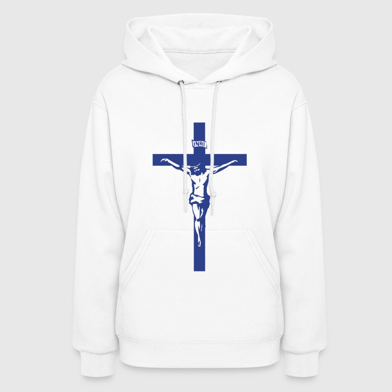 Jesus Cross Crucifix  Hoodies - Women's Hoodie