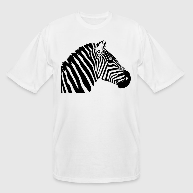 Zebra head T-Shirts - Men's Tall T-Shirt
