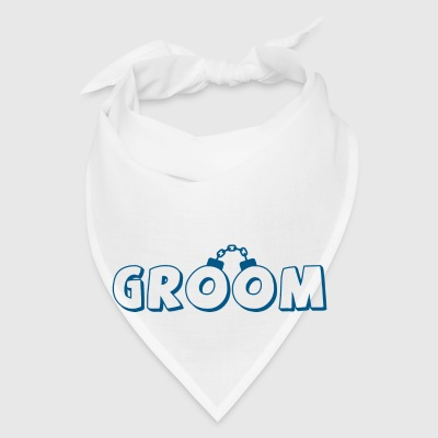 Funny groom text Buttons - Bandana
