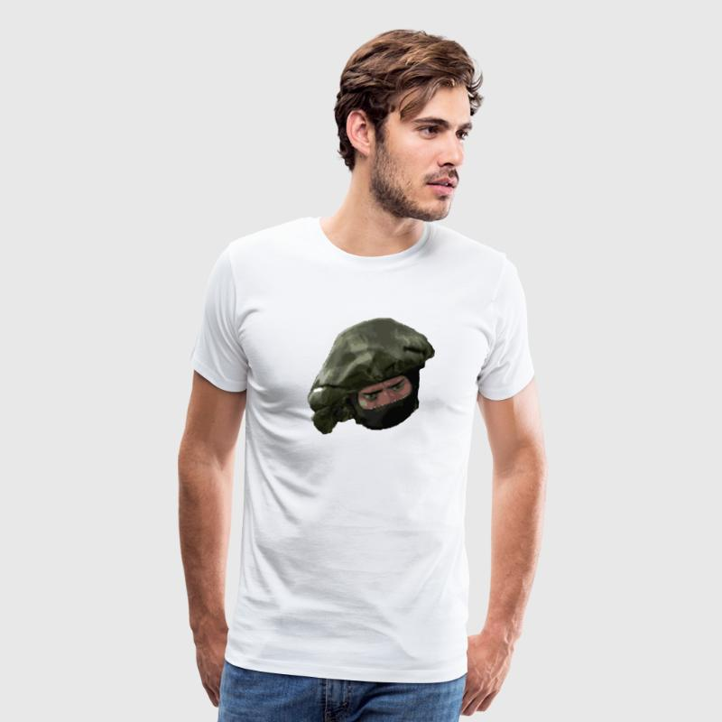Counter Terrorist face CS:GO - Men's Premium T-Shirt