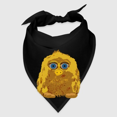 Cute Yellow Yeti Bigfoot Mugs & Drinkware - Bandana