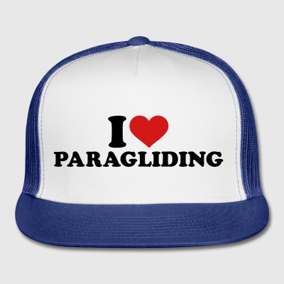 I love Paragliding Mugs & Drinkware - Trucker Cap