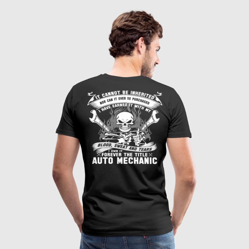 Auto mechanic auto mechanic - Men's Premium T-Shirt