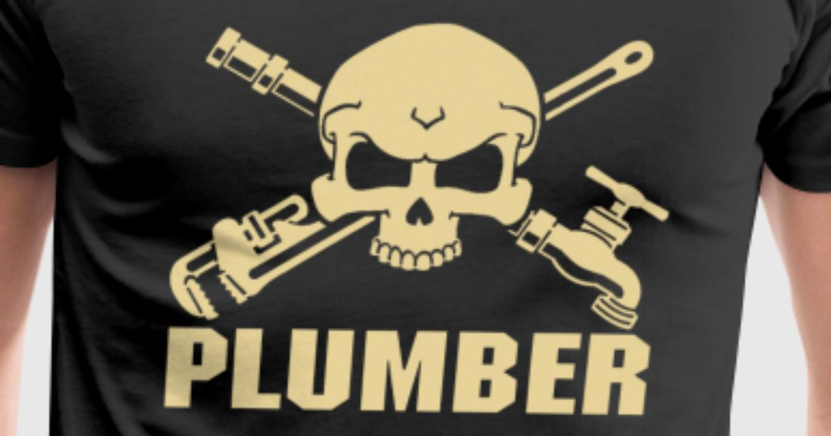 Plumber wrench plumber plumber plumber crack di t shirt for Plumber t shirt cleavage