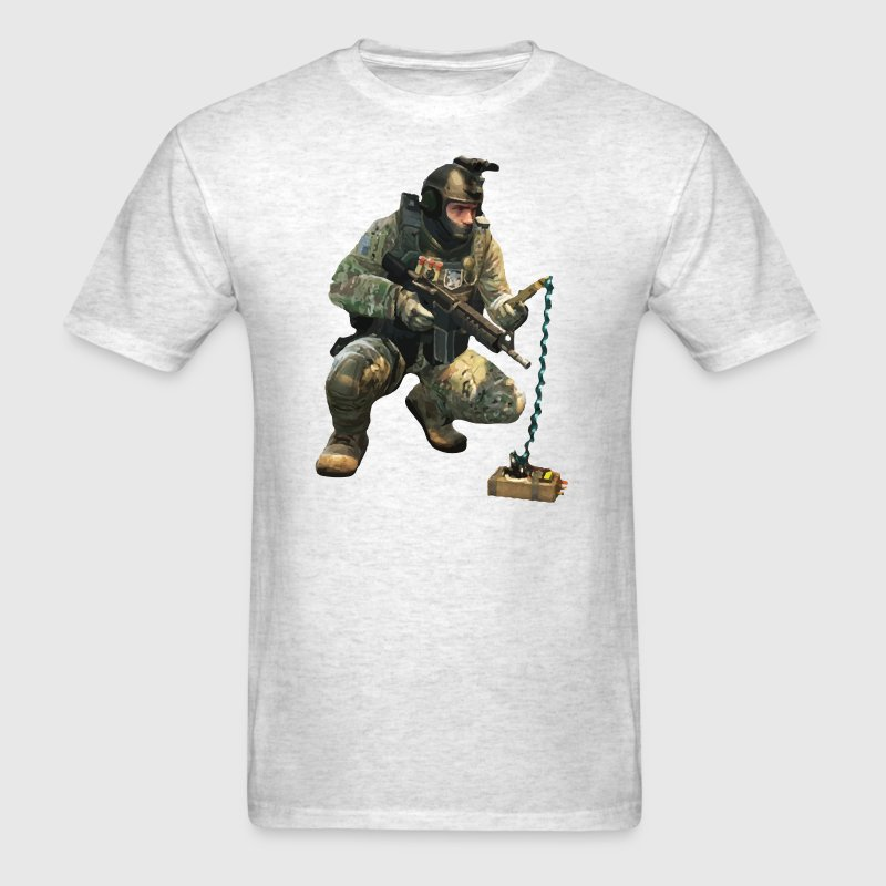 DEFUSiNG CT T-SHIRT - Men's T-Shirt