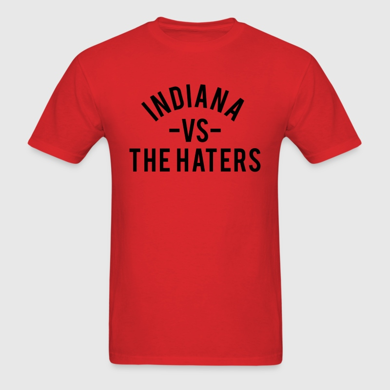 Indiana vs. The Haters T-Shirts - Men's T-Shirt
