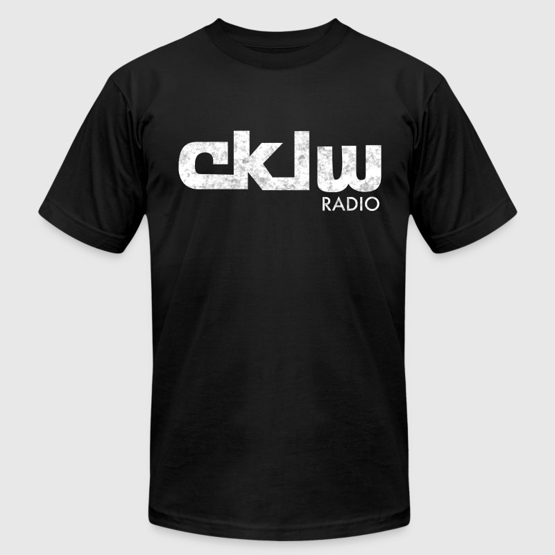 CKLW Detroit Vintage Radio T-Shirts - Men's T-Shirt by American Apparel