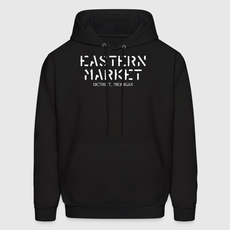 Eastern Market Detroit Michigan  Hoodies - Men's Hoodie