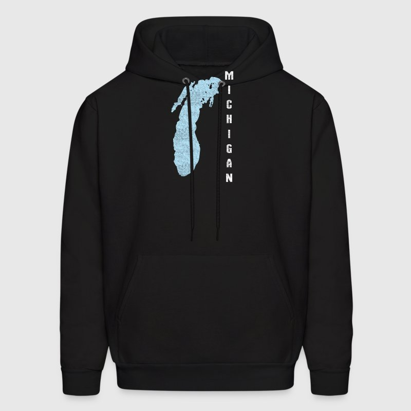 Lake Michigan Great Lakes Hoodies - Men's Hoodie