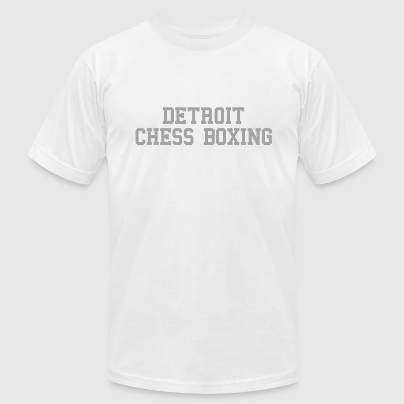 Detroit Chess Boxing T-Shirts - Men's T-Shirt by American Apparel
