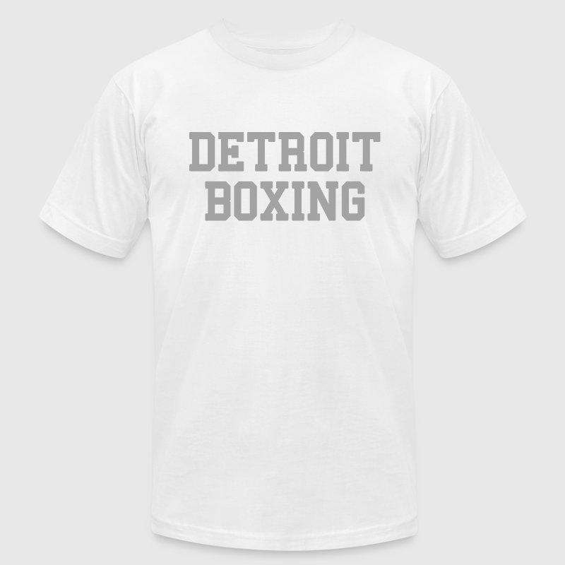 Detroit Boxing T-Shirts - Men's T-Shirt by American Apparel