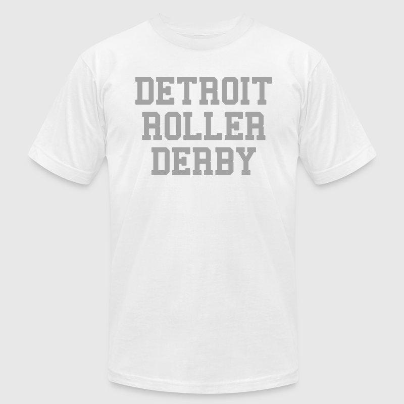 Detroit Roller Derby T-Shirts - Men's T-Shirt by American Apparel