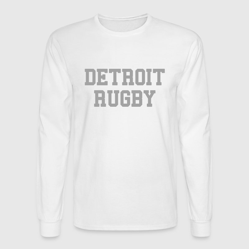 Detroit Rugby Long Sleeve Shirts - Men's Long Sleeve T-Shirt