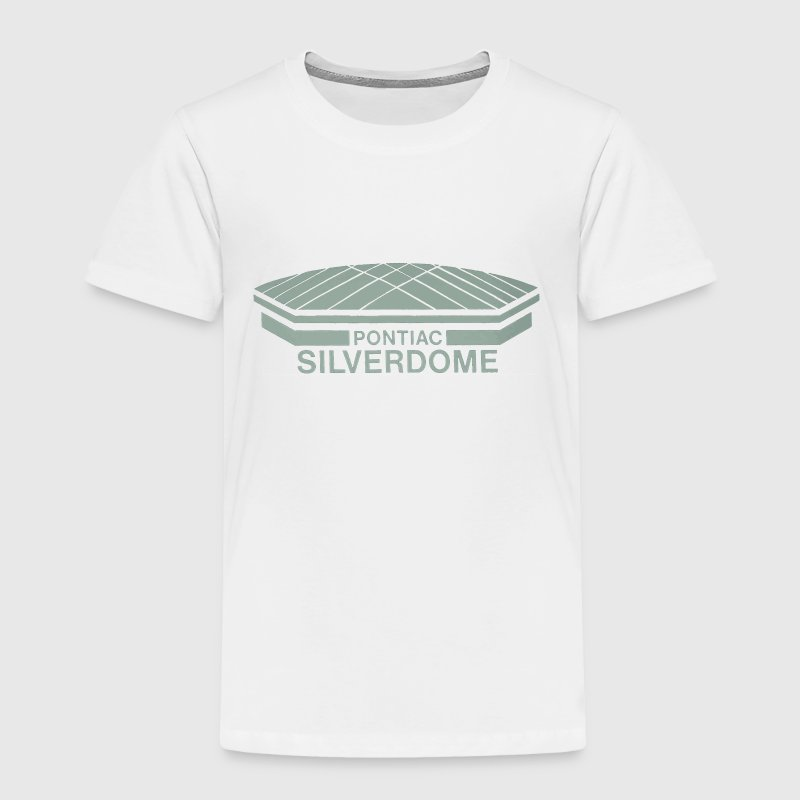 Old School Vintage Pontiac Silverdome  Baby & Toddler Shirts - Toddler Premium T-Shirt