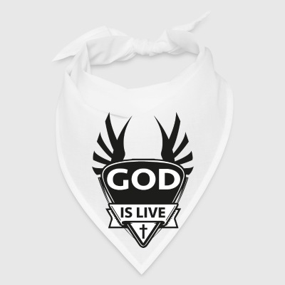 God is live Mugs & Drinkware - Bandana