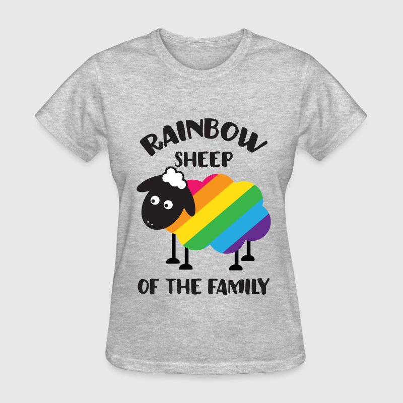Rainbow Sheep Of The Family LGBT Pride Women's T-Shirts - Women's T-Shirt
