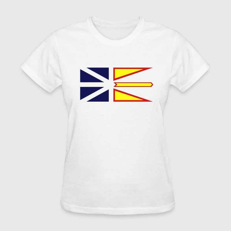Flag of Newfoundland and Labrador, Canada. Women's T-Shirts - Women's T-Shirt