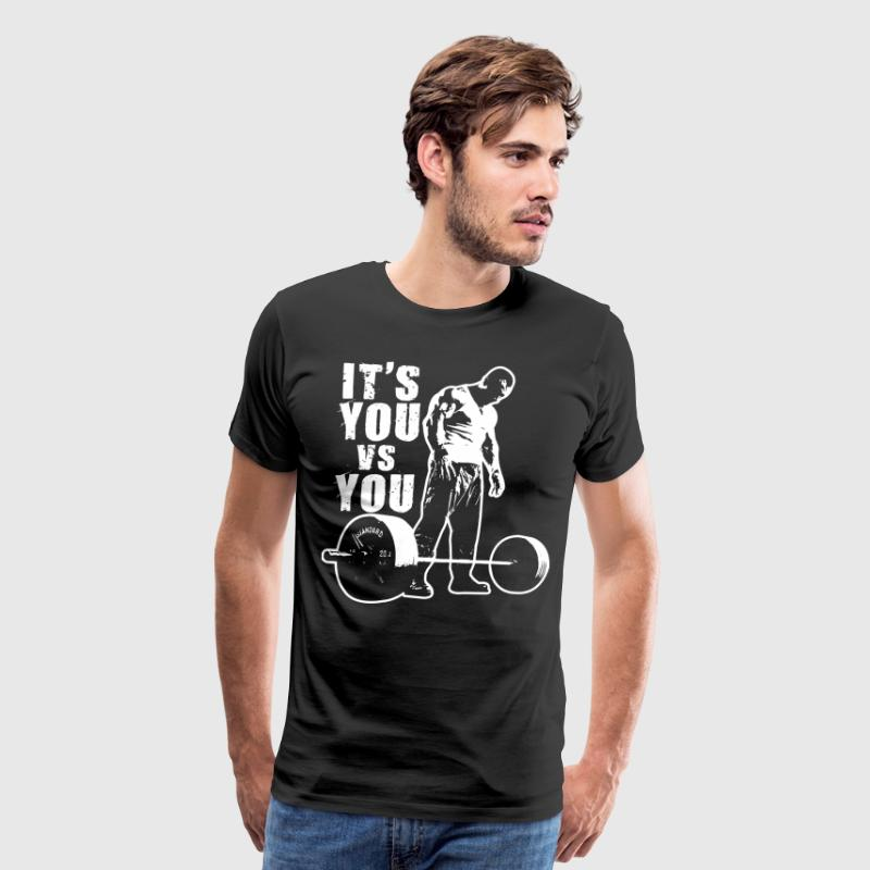 It's You vs You T-Shirts - Men's Premium T-Shirt