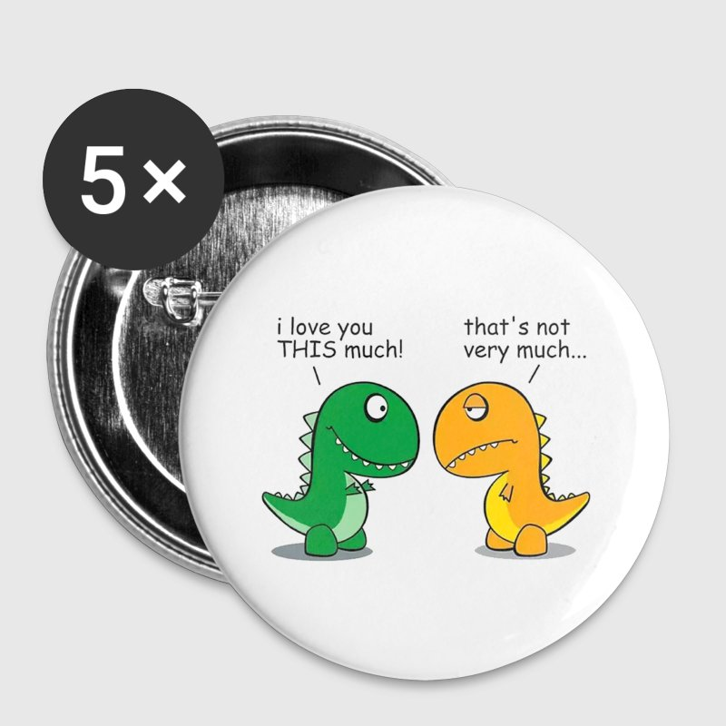 Dinosaur button - Small Buttons