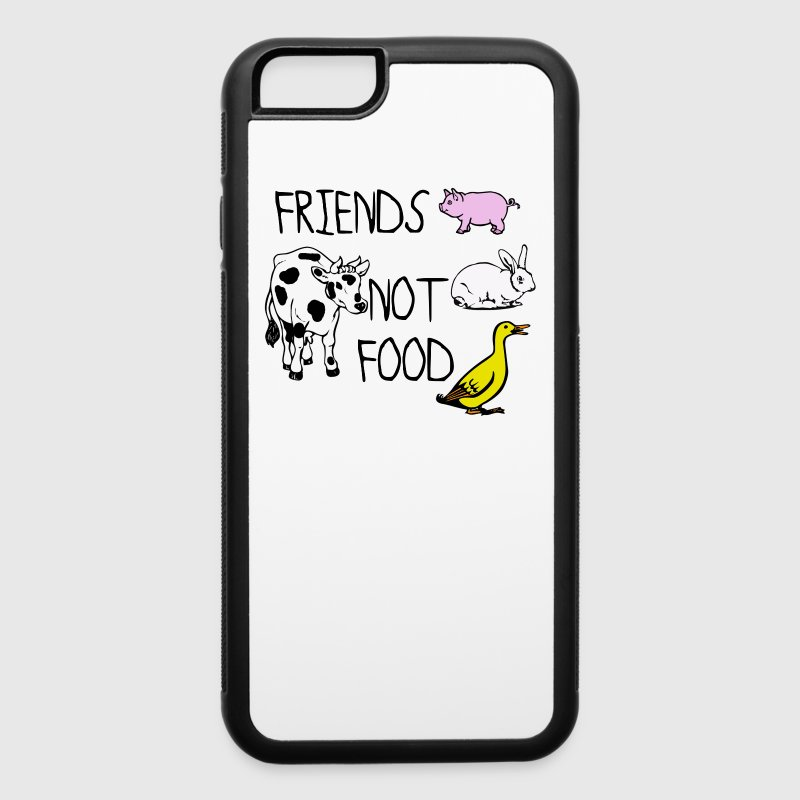 Friends not food - iPhone 6/6s Rubber Case