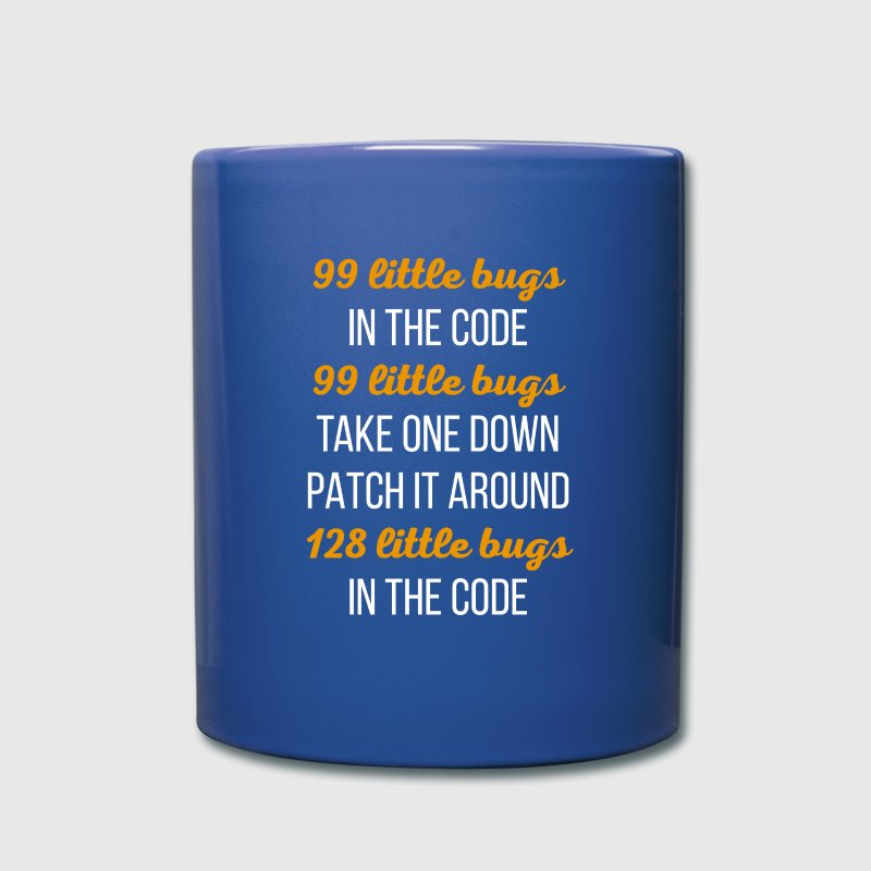 Coding Error List Programmers T Shirt Mugs & Drinkware - Full Color Mug
