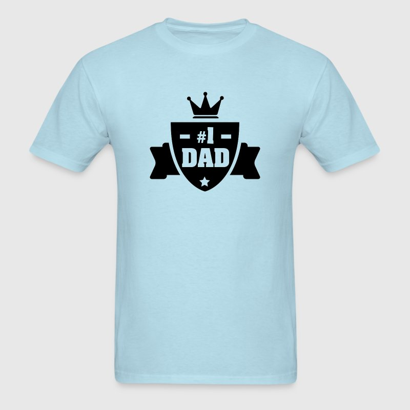 Number 1 Dad - Men's T-Shirt