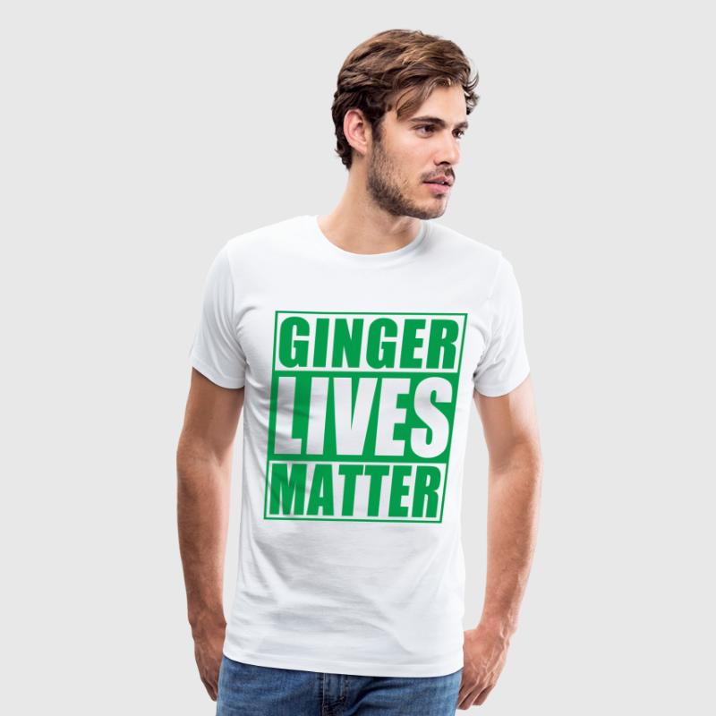 Ginger Lives Matter Movement  T-Shirts - Men's Premium T-Shirt