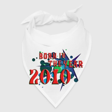(022016born_in_the_year_2010_c) Other - Bandana