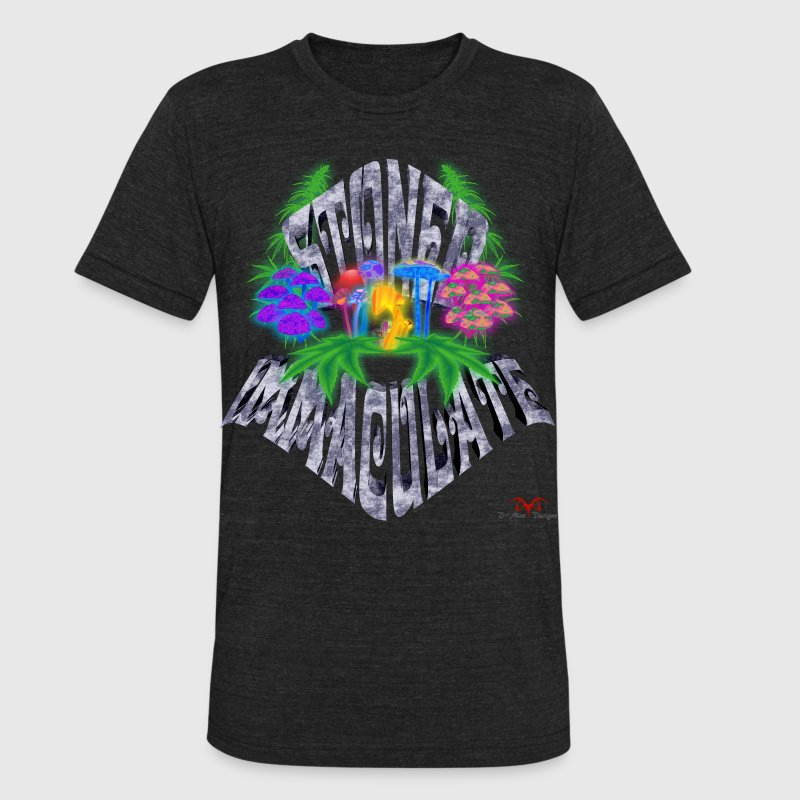 Stoned Immaculate - Unisex Tri-Blend T-Shirt by American Apparel