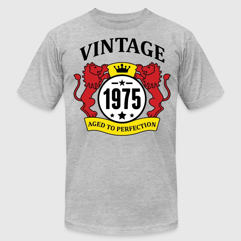 Vintage 1975 Aged to Perfection T-Shirts - Men's T-Shirt by American Apparel
