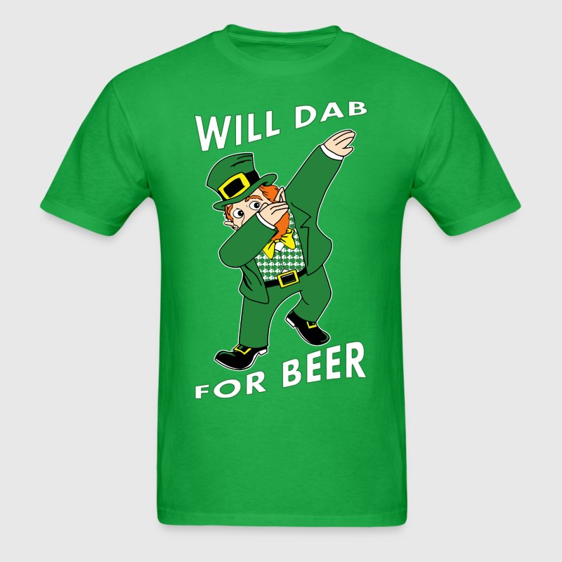 Will Dab For Beer T-Shirts - Men's T-Shirt