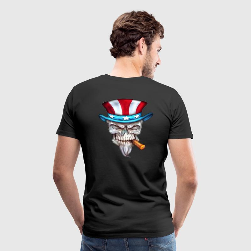 uncle sam skull T-Shirts - Men's Premium T-Shirt