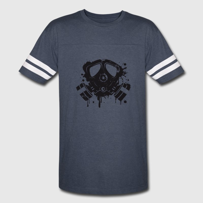 Gas mask graffiti T-Shirts - Vintage Sport T-Shirt