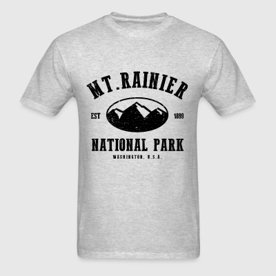 Mt. Rainier National Park Long Sleeve Shirts - Men's T-Shirt