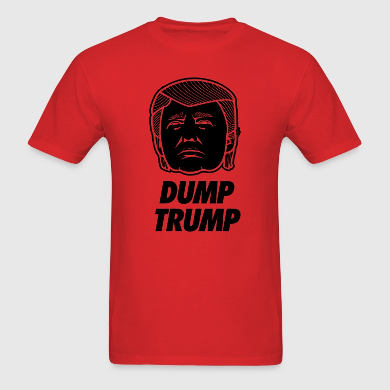 Dump Trump T-Shirts - Men's T-Shirt