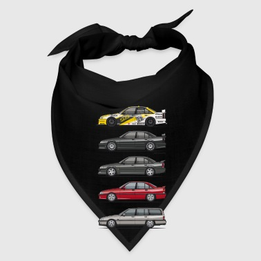 Stack of Opel Omegas / Vauxhall Carlton A Bags & backpacks - Bandana