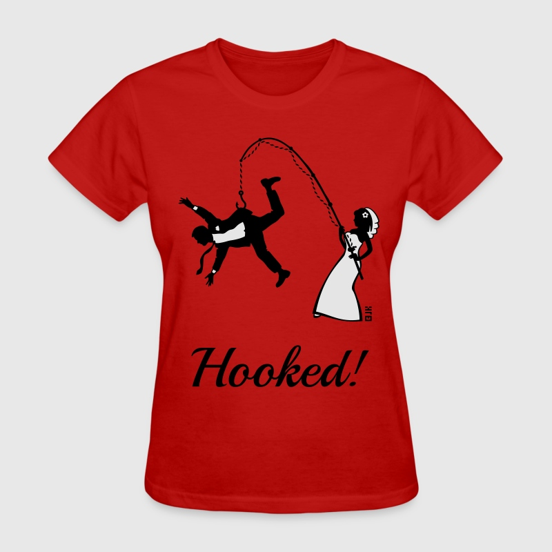 Bride Fishing Groom Stag Party Women S T Shirt