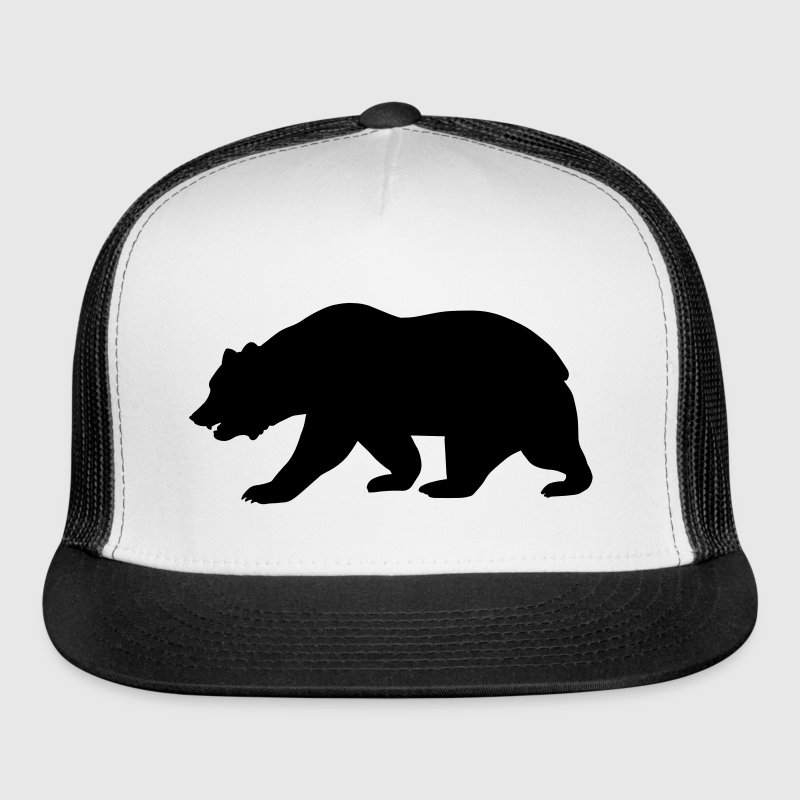 California Bear Caps - Trucker Cap