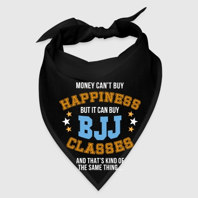 Jiu Jitsu Money can't buy happiness BJJ T Shirt Mugs & Drinkware - Bandana