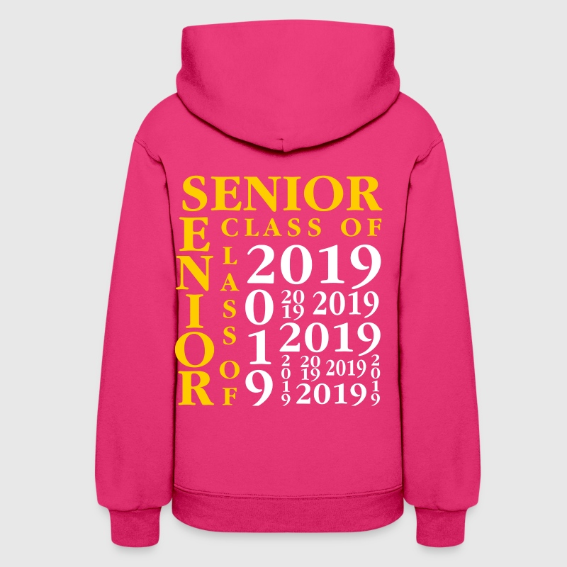 Senior Class Of 2019 Hoodies - Women's Hoodie